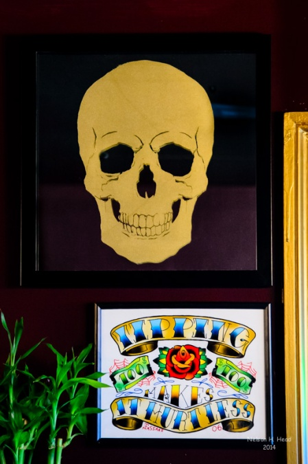 At Paul Loh's 407 Tattoo & Piercing Studio in Woodbrodge