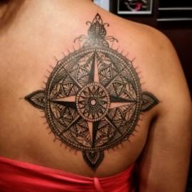 PL-B&G Mandala Compass